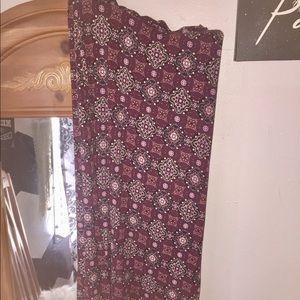 Dresses & Skirts - Boho maxi skirt !